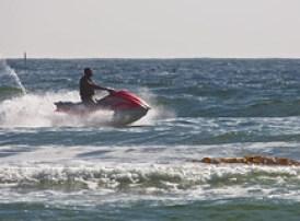 Jet Ski Personal Water Craft PWC off Morro Str...