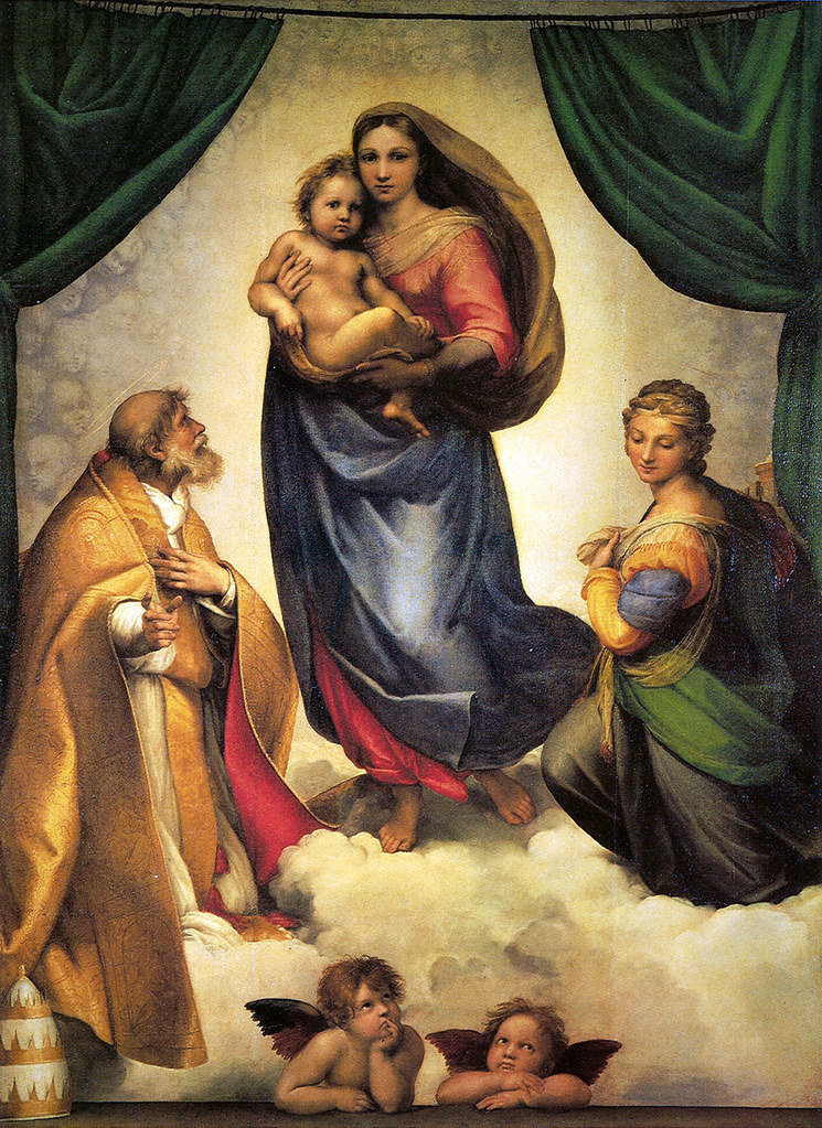 Raffaello Madonna Sistina