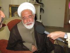 Presidential candidate, Mehdi Karroubi