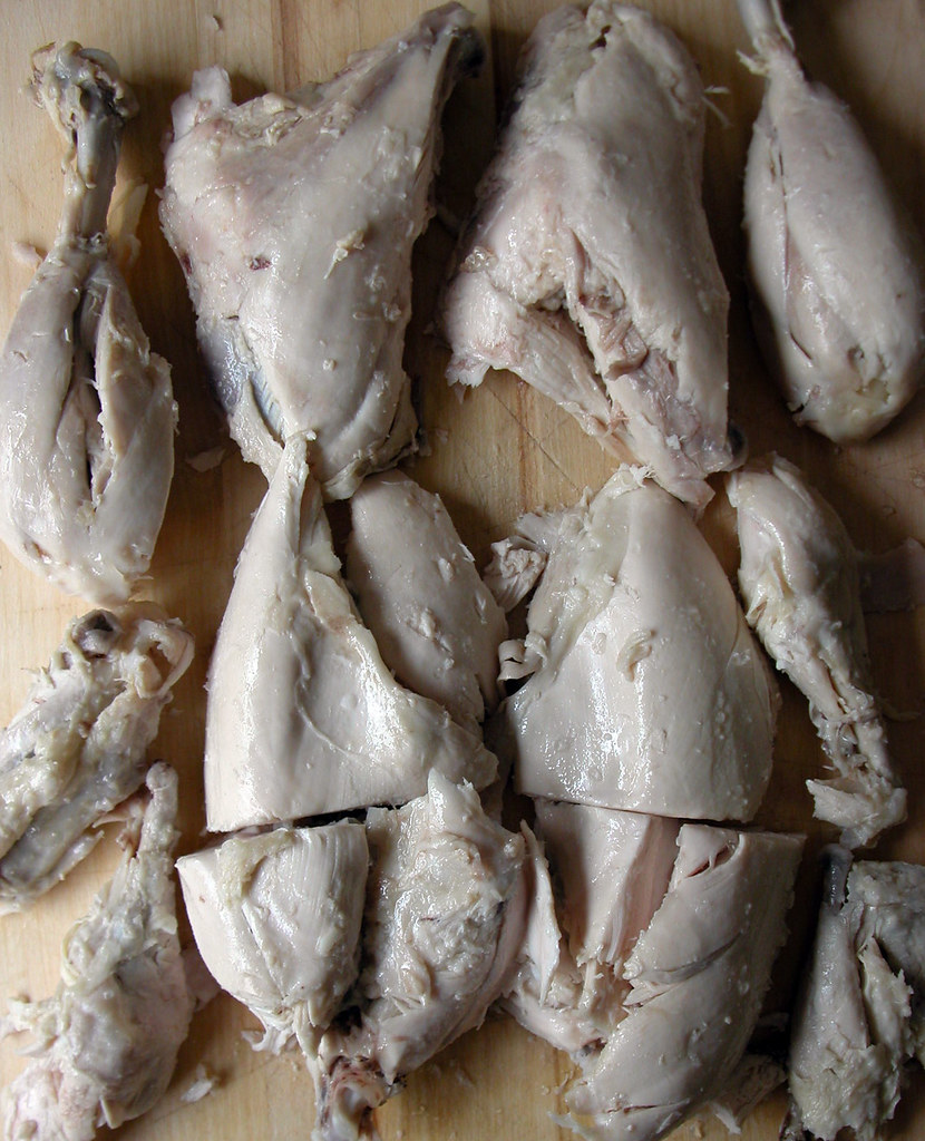 Week Four: Drunken Chicken jointed