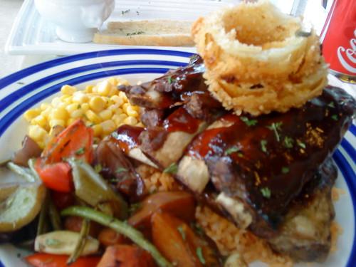 Hickory Pork BBQ ribs