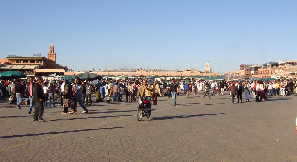 Plaza Jemâ' El F'na (Marrakech)