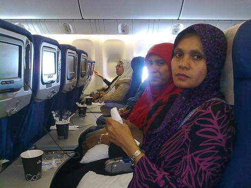 Dalam flight KLIA-Jakarta