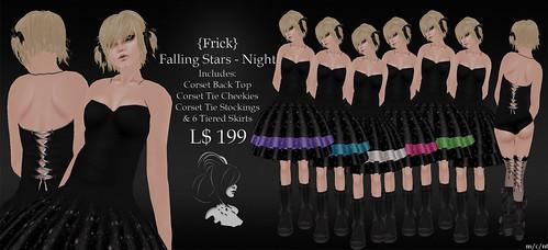 Frick - Falling Stars - Night Pack Ad