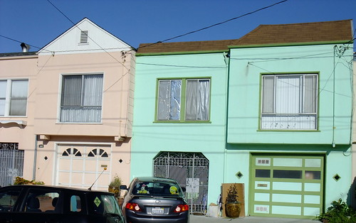 Every Day is a Happy Saint Patrick's Day in The Outer Sunset green pink 1