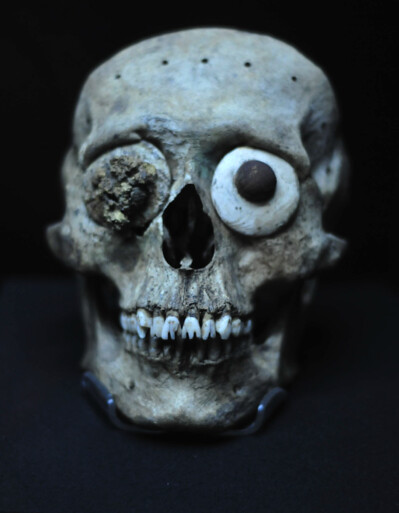 Skull from Templo Mayor, Mexico