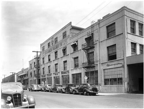 Los Angeles Creamery circa 1939 LAPL collection