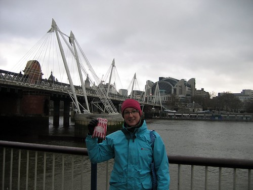 Hungerford Bridge, Hope and Greenwood Sweets and Claire