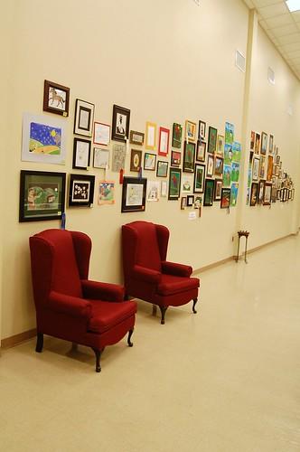 Trinitas Christian School art contest.