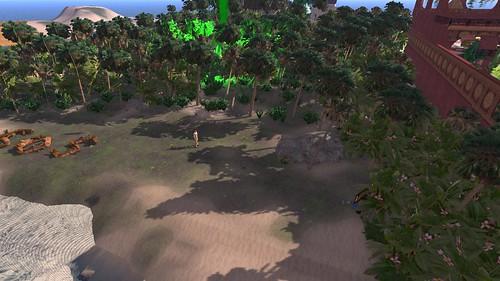 Shadows on HBA Island