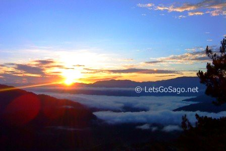 Kiltepan Viewpoint Sunrise @ Sagada, Mt. Province