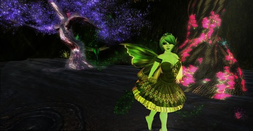 Green Collingwood - Pixie of the Mist