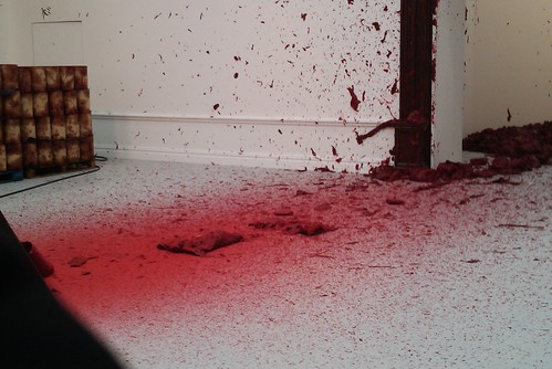 Anish Kapoor - Shooting into the Corner, 2008-9