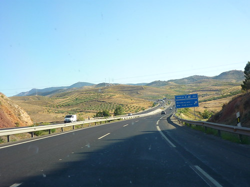 Motorway between Zaragoza and Calatayud