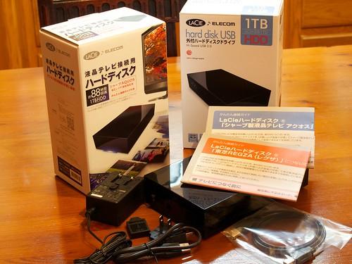 LaCie Hard Disk LCH-DB1TUTV