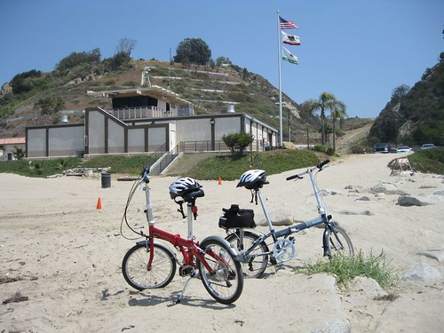 bikes with life guard station