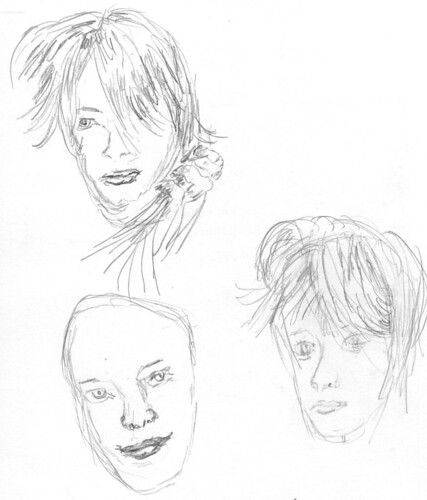 Drawing Unknown Faces, part 166, sketch 1