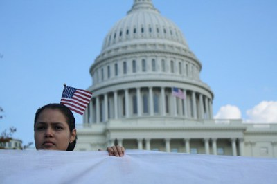 Activists lobbied Congress members to stop deportations and pass immigration reform. (Photos: Jelena Kopanja)