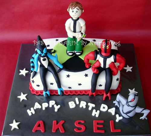 BEN 10 CAKE - BIRTHDAY AKSEL'S