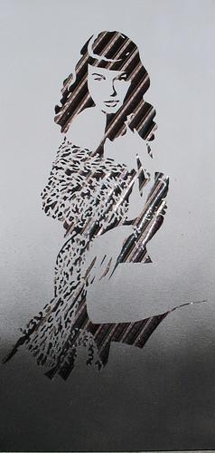 Ghost in the Machine- Betty Page por iri5.