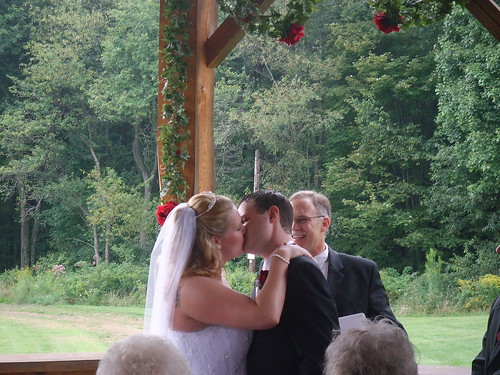 Kiss the bride!