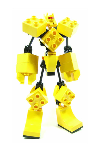 Mighty Doo-Plo LEGO transformer