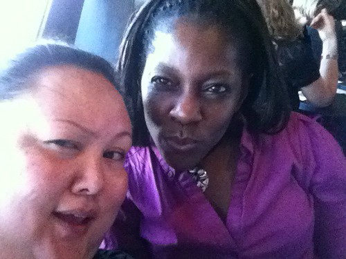 Jasmine and Adrienne