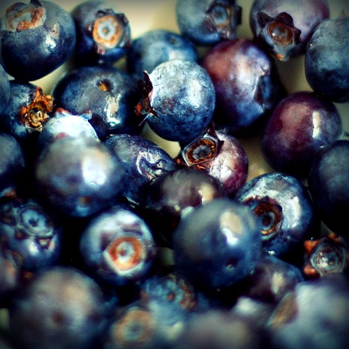 some more blueberries.