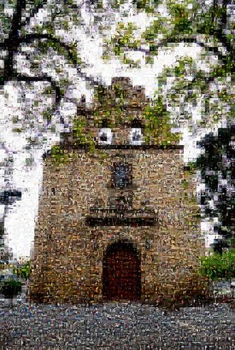 Mosaico Templo de Nuestra Señora de Aranzazú, Jugando con mis fotos