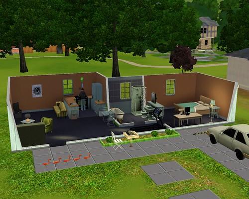Sim Dan's House