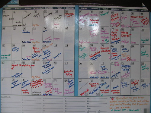 Summer Calendar in Review