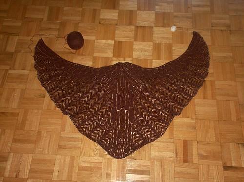 Wings of Horus Shawl - Clue 4
