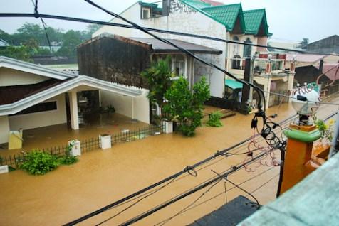 Typhoon Ondoy Manila Philippines