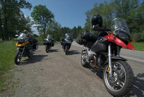 Roadside stop in New England