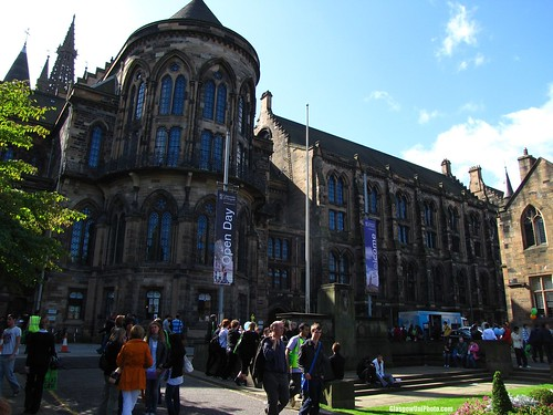 Open Day at Glasgow University
