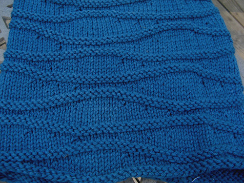 until I took this photo, I didnt notice the short row stitches standing out that much.