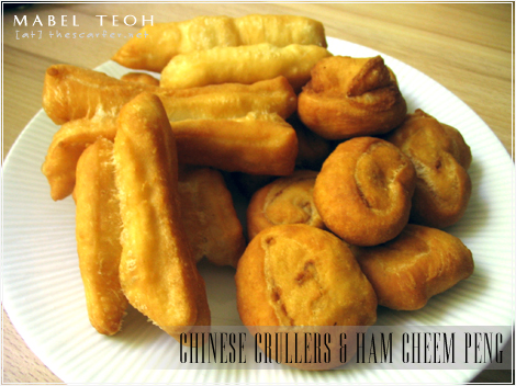 Chinese crullers & Ham Cheem Peng