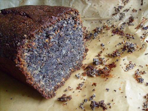 Cake au pavot