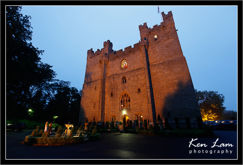 Wedding at Langley Castle