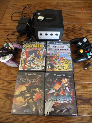 Hes also selling his Game Cube and games.  Hes got mad photo skills...just like his mama!
