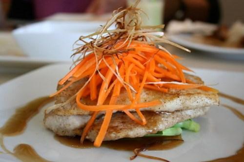 Fish Fillet in Light Soy Sauce at Unit 8 Cafe