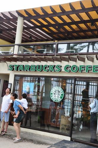 Starbucks in Boracay