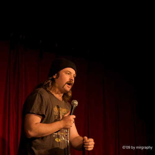 Glenn Wool at the Comedy Store