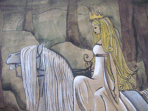 Swedish fairy tale princess - detail