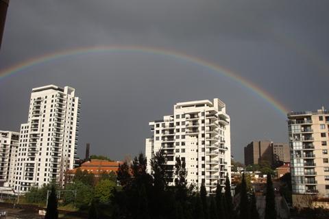 SYDNEY - Winter rainbow2