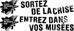 Slogan Nuit des musées 2009