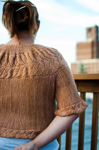 Vine Yoke Cardigan - FINISHED