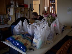 You need a lot of groceries . . .