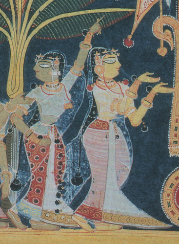 Detail of the gopis by you.