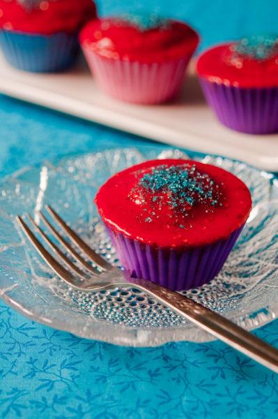 Jammy cupcakes